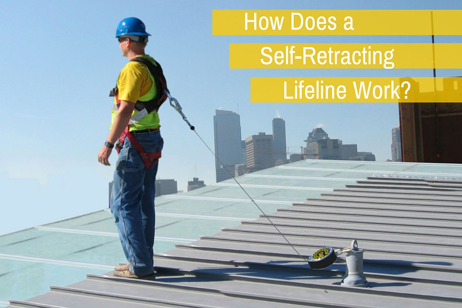 How does a Self-Retracting Lifeline Work