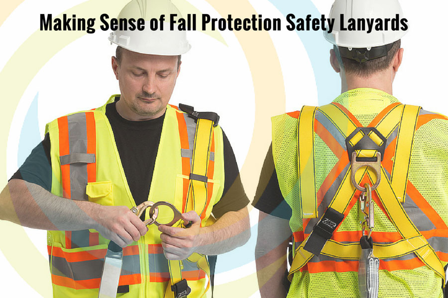 Making Sense of Fall Protection Safety Lanyards