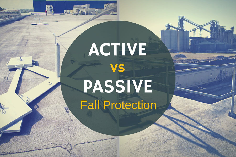Active vs Passive Fall Protection