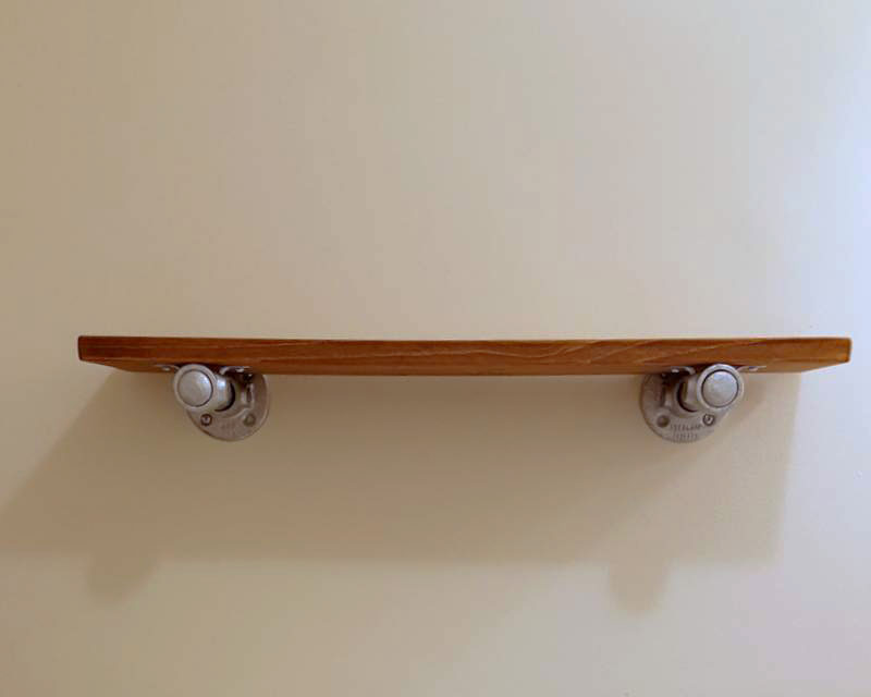 DIY Bathroom Shelf