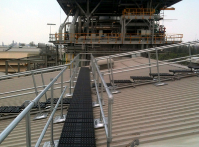 Combine with our Walkway Solution for Metal Roofs