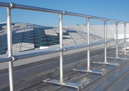 Standing Seam Roof Railing