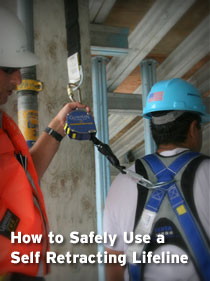 How to Safely Use a Self Retracting Lifeline