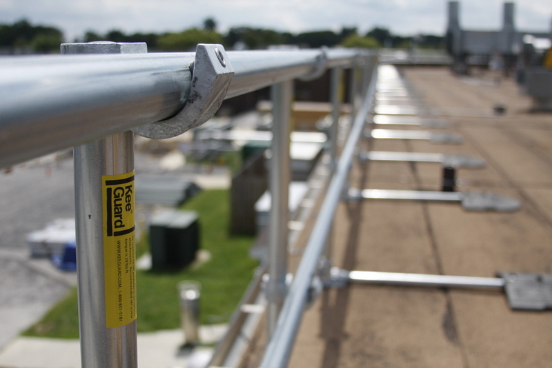 Tested Roof Guardrail