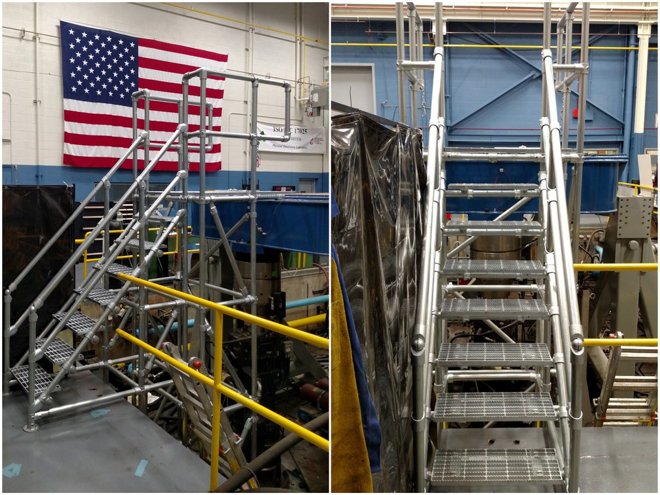 Safe Access Platform at U.S. Army Facility