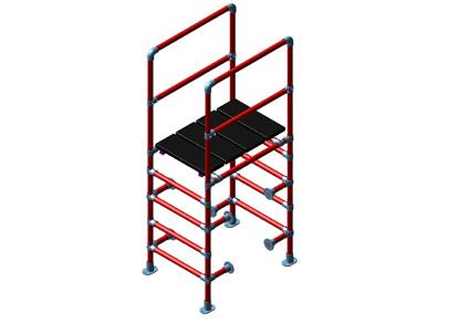 Custom Climbup Work Platform